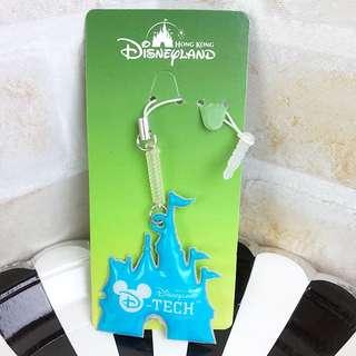 全新 迪士尼城堡 手機吊飾 螢幕擦