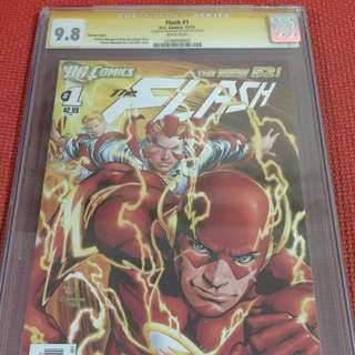 Flash 1 2011 9.8 CGC (Signed - Buccellato)