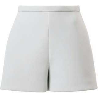 Ladies Grey Cigarette Shorts