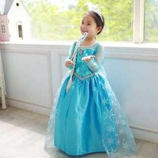 DISNEY PRINCESS ELSA COSTUME FOR KIDS