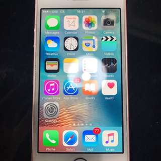 Iphone SE 64GB Rose Gold 99% Condition