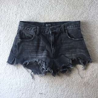 Bardot Denim cut offs