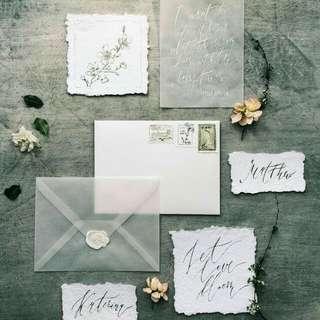 Wedding / Birthday Invitations