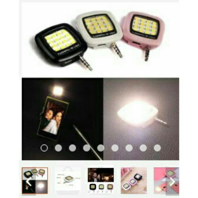 16 LED Mini Selfie Flash LED light