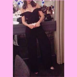 RENT/SELL: Sheike over shoulder jumpsuit (formal/party/event)