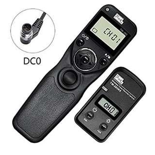 Pixel TW-283/DC0 Wireless Shutter Release Timer Remote Control for Nikon DSLR Digital Camera D800 series D810 series 1D series 2D series 300series D700 D500 D200 D4 D5 N90s F5 F6 F100 F90 F90X D3s
