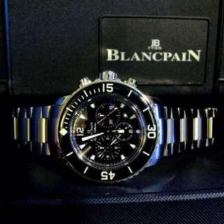 Blancpain Fifty Fathoms Flyback on Bracelet