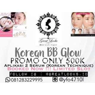 Korean BB glow PROMO