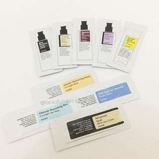 SAMPLES COSRX PRODUCTS