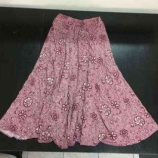 Flowering skirt