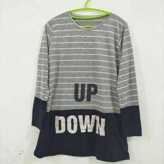Top Up Down Grey