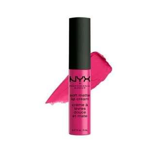 NYX Professional Make Up Soft Matte Lip Cream (Addis Ababa-07)
