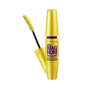Maybelline Volum Express Magnum Waterproof Mascara (Black)