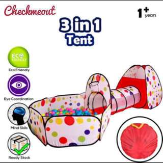 🌈READY STOCK🌈Kids Pop-Up Tent Foldable