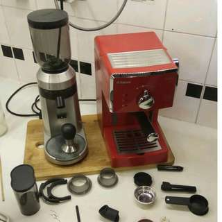 Philips Saeco Poemia & Welhome ZD-15 Grinder