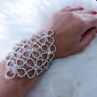 Rhinestone Bracelet Accessory Jewellery - Brand New with Tags