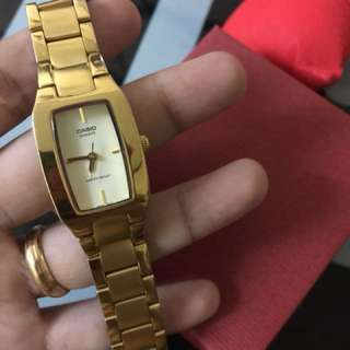 Authentic casio watch preloved