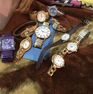 Watches sold individually