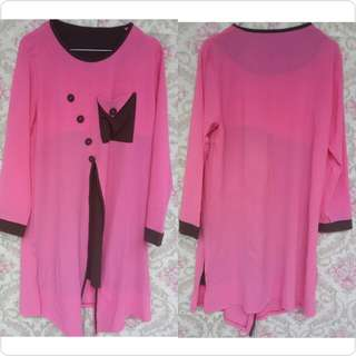 blouse bubble plus segiempat