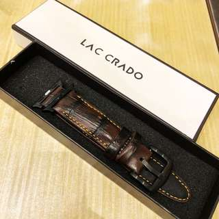 Genuine Crocodile Leather Strap for Apple Watch
