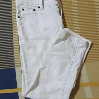 White Skinny Jeans (women's)