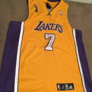 Lamar Odom LA Lakers replica jersey