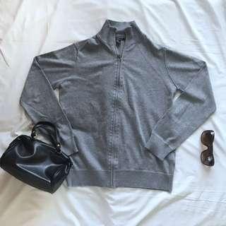 Forever21 Grey Knitwear Jacket