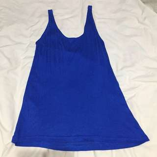 Shana Blue Tank Top