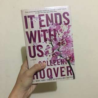 It ends with us by Colleen Hoover- Brand new