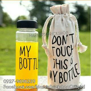 Don't Touch My Bottle 500ml with FREE Reusable Bag Perfect for Giveaways this Christmas