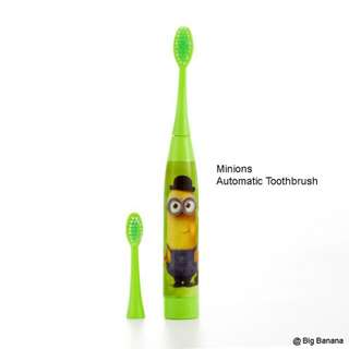 Kids Sonic Vibration Automatic Toothbrush (Minions)