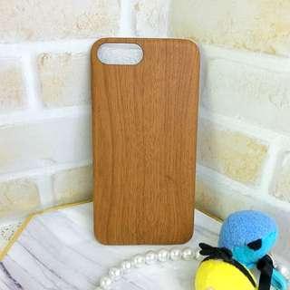 🚚 全新 iPhone 7 plus 木紋色殼 軟殼