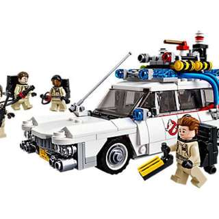 [Lego] 21108 - Ghostbusters™ Ecto-1 (with light set)