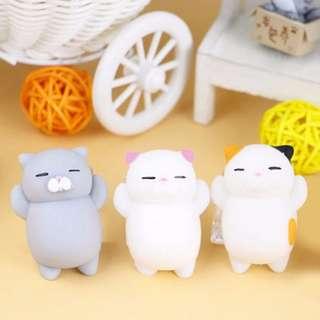 Cute Cartoon Squishy Toy Stress-Relief