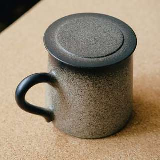 Stone Dust Mug with Lid