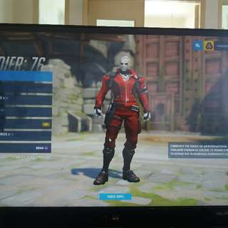 Overwatch platinum account