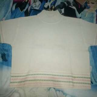Turtle neck croptee