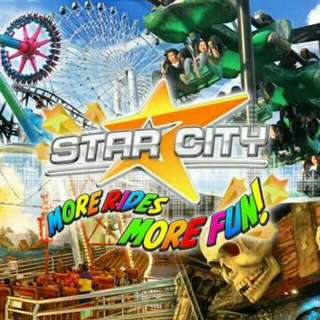 Star City Dated Ticket