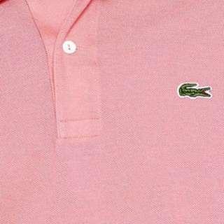 RALPH LAUREN pink skinny polo