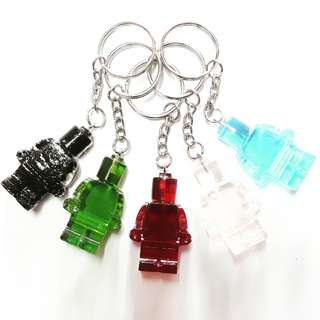 Resin Mini Figure Keychain