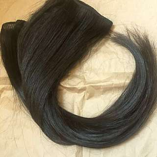 100% Human Hair Weft Extensions