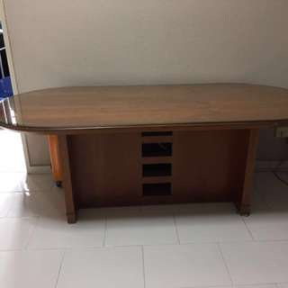 Conference/ meeting table (hardwood)
