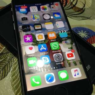 iphone 6 64G (US locked) spacegray (hamis kaau no dents and no issue)