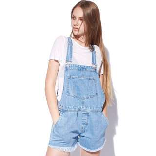 Luck & Trouble Brand Overalls
