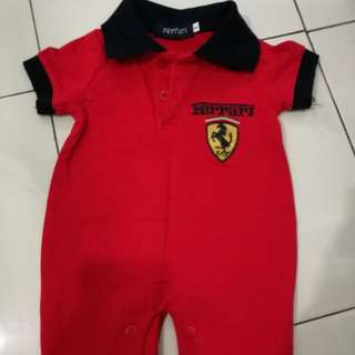 Preloved Ferrari Rompers