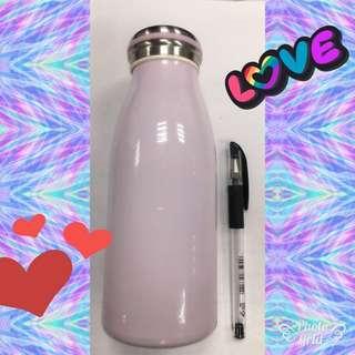 全新粉紫亮彩隨手瓶