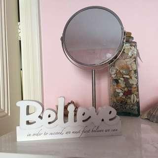 "Motivational ""Believe"" Ornament"