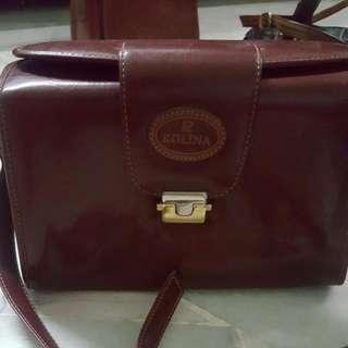 Rolina Vintage Hardcover Bag