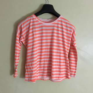 Stripes Orange Top