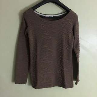 Brown Long Sleeves